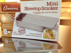 The Original Camerons Stainless Steel Stovetop Smoker- mini