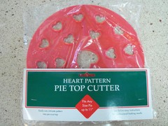 Kitchen Supply Heart Pie Top Cutter